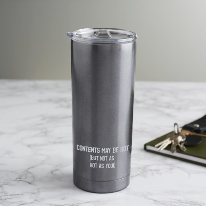 Hot Contents Travel Cup
