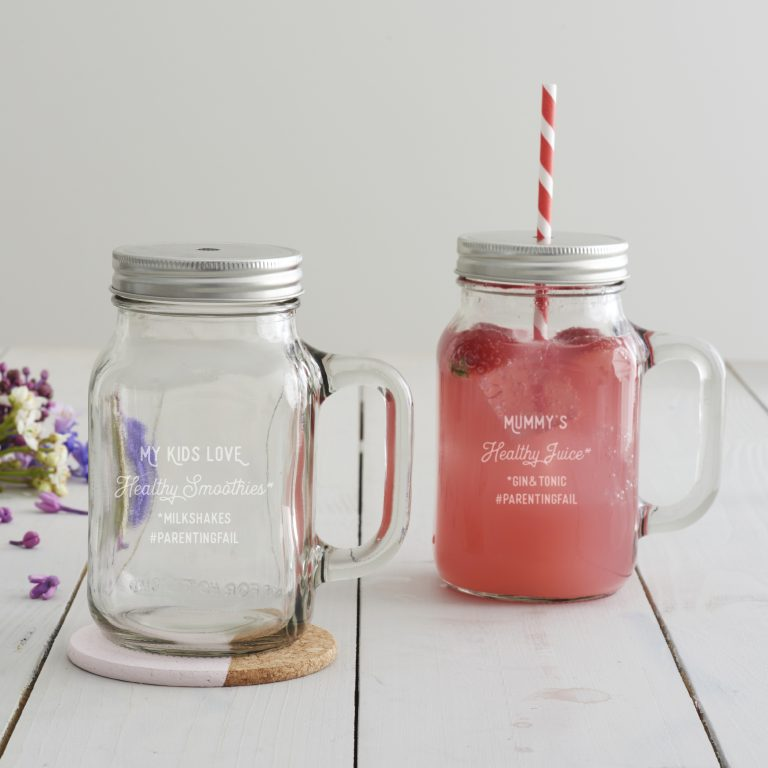 Personalised 'Parenting Fail' Drinking Jar