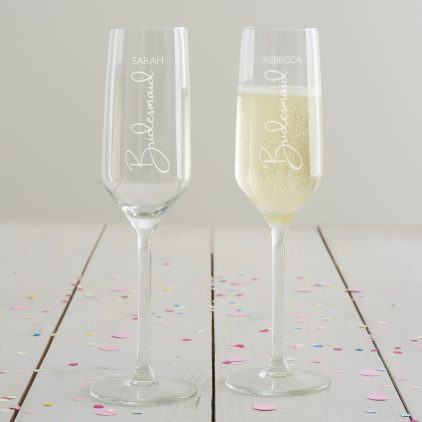 Wedding Role Champagne Bridesmaid (Vertical)