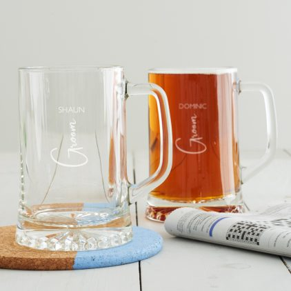 Wedding Role Tankard Groom (Vertical)