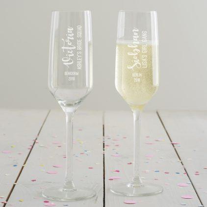 Detailed Hen Champagne