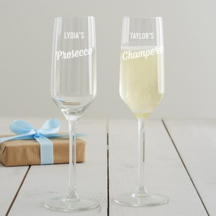 Becky Broome Champagne Flute