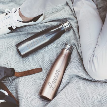 Personalised Name Water Bottle Lifestyle