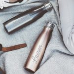 Personalised Name Water Bottle Lifestyle Detail