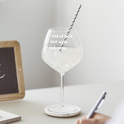 Teachers Gin Glass Lifestyle