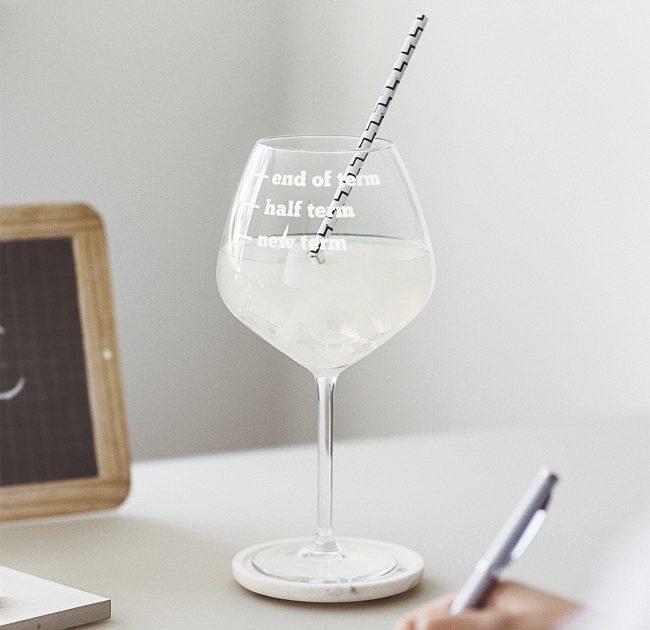 Teachers Gin Glass Lifestyle
