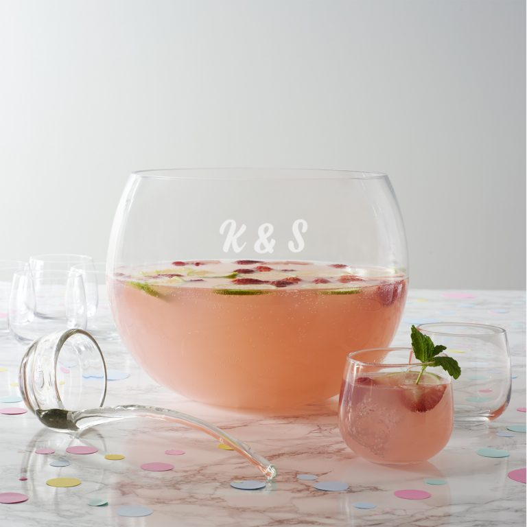 Personalised Punch Bowl