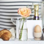 Personalised Bottle Bud Vase Lifestyle