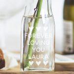 Personalised Bottle Bud Vase Still Life Lifestyle