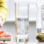 Personalised Name Hi Ball Glass Lifestyle Detail