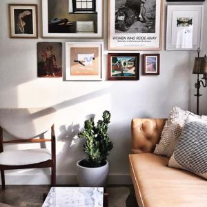Marie Kondo Spring Refresh Living Room Inspiration