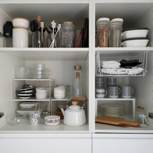 Marie Kondo Spring Refresh Kitchen Tidying Inspiration