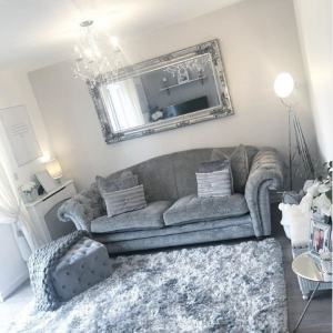 Mrs Hinch Home Spring Refresh Monochrome Living Room Inspiration