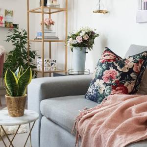 Step inside my handbag Spring Refresh Floral Living Room Inspiration