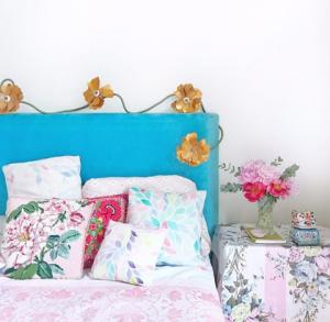 Rebecca Newport Spring Refresh Pastel Bed Inspiration