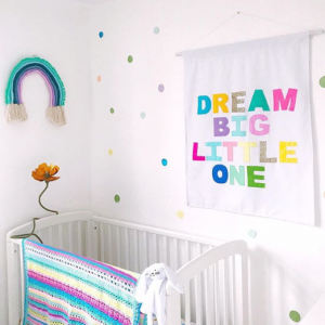 Rebecca Newport Spring Refresh Pastel Baby Room Inspiration