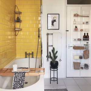 Life at Number 63 Spring Refresh Yellow Bathroom Inspiration