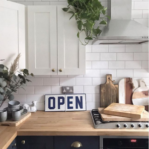 The house that Jen built Spring Refresh Blue and White Kitchen Inspiration