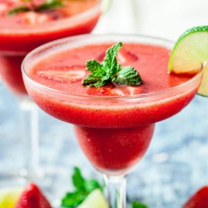 World Cocktail Day Red Strawberry Daiquiri