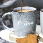 Personalised Mr And Mrs Mug Set Detail 1
