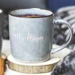 Personalised Mr And Mrs Mug Set Detail 2