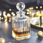 Personalised Christmas Advent Crystal Decanter Lifestyle