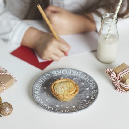 Personalised Christmas Eve Plate For Santa Lifestyle