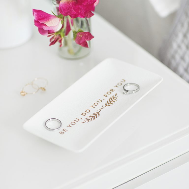 Personalised Positivity Trinket Dish