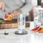 Personalised Sided Hi Ball Glass Lifestyle