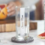 Personalised Sided Hi Ball Glass Lifestyle Detail