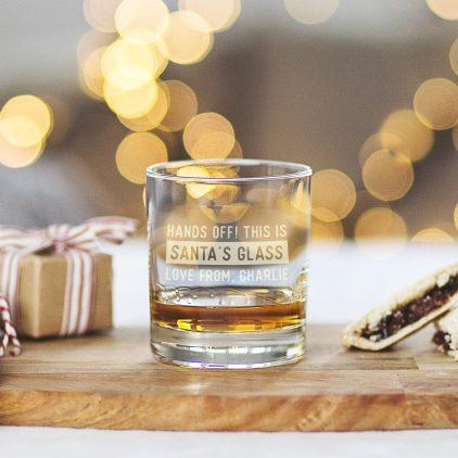 Santa Glass Design