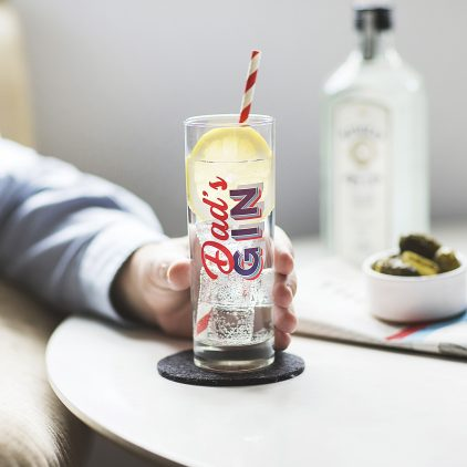 Personalised Mixers Retro Hi Ball Glass