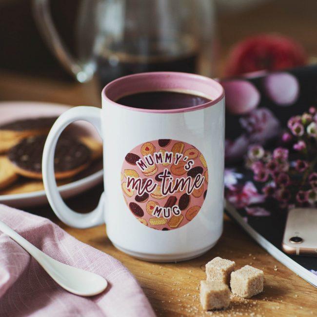 Personalised Biscuit Mug