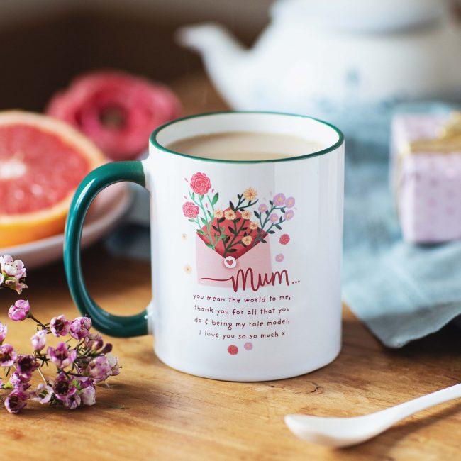 Personalised Message For Mum Mug