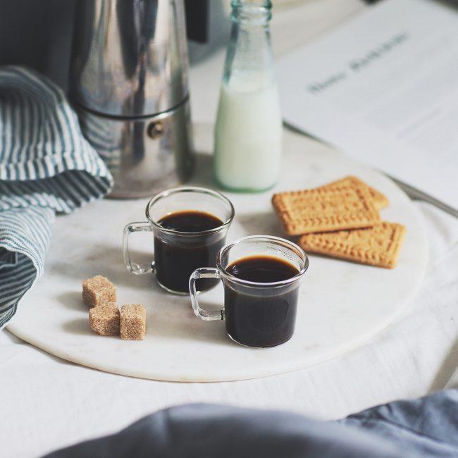 Glass Espresso Cup Set