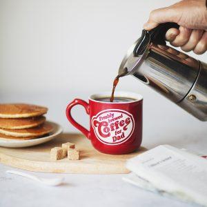 Personalised Retro Diner Mug