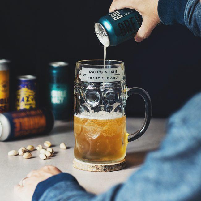 Personalised Craft Beer Stein